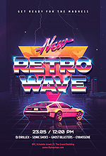 80`s Retro Text Effects vol.4 Synthwave Retrowave - 23
