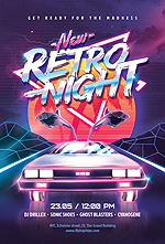80`s Retro Text Effects vol.4 Synthwave Retrowave - 31