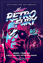80`s Retro Text Effects vol.4 Synthwave Retrowave - 30