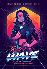 80`s Retro Text Effects vol.4 Synthwave Retrowave - 28
