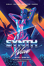 80`s Retro Text Effects vol.4 Synthwave Retrowave - 22
