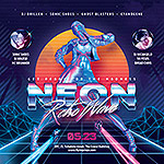 80`s Retro Text Effects vol.4 Synthwave Retrowave - 25