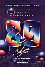 80`s Retro Text Effects vol.4 Synthwave Retrowave - 21